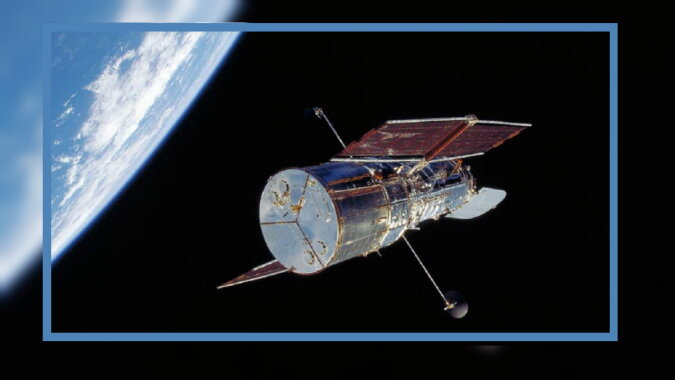 Das Weltraumteleskop. Quelle: pinterest