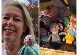 """""""Meine Kinder"""": Eine Lehrerin vermisst ihre Schüler und strickt ihre Kopien"""