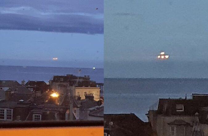 Ein UFO. Quelle:dailymail.co.uk