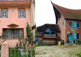 Ungewöhnliche Häuser. Quelle:dailymail.co.uk