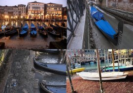 Venedigs Kanäle. Quelle:dailymail.co.uk