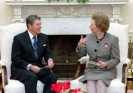 Margaret Thatchers Villa, in der sie Ronald Reagan beherbergte, kann jetzt für Tausende pro Monat gemietet werden