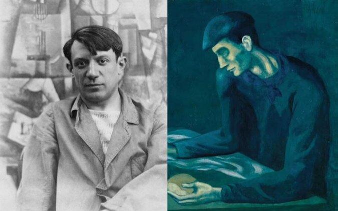 Das Gemälde von Pablo Picasso. Quelle:dailymail.co.uk