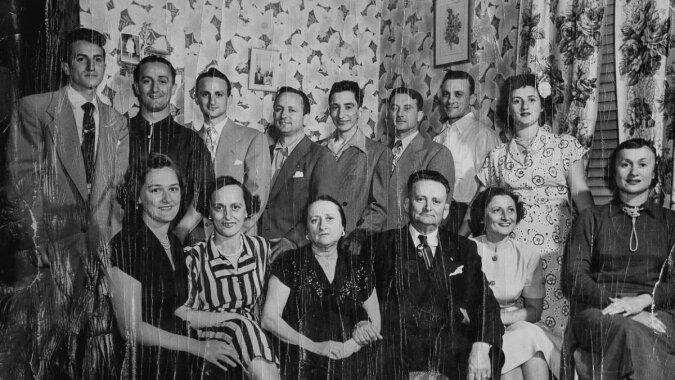Die Familie einer Teilnehmerin des Wettbewerbs. Quelle: pinterest