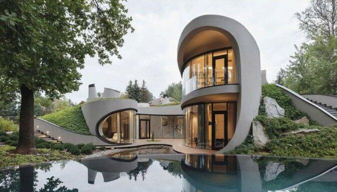 """""""Einigkeit mit der Natur"""": Ein Haus, das größtenteils unter der Erde versteckt ist"""