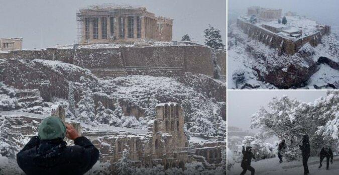 Schönheit der winterlichen Landschaften. Quelle: dailymail.co.uk