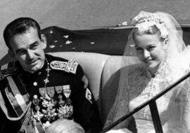 Grace Kelly mit dem Ehemann. Quelle: 24smi