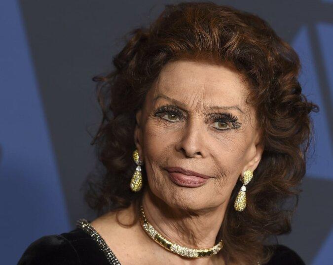 Sophia Loren. Quelle:dailymail.co.uk