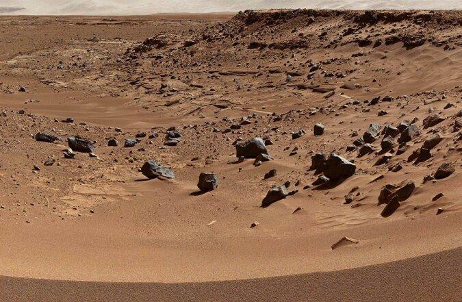 """""""Steinbrüche des Roten Planeten"""": Die NASA hat begonnen, die Bergschluchten des Mars zu erkunden"""