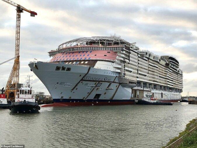 Luxuriöse Kreuzfahrt: Wie das größte Kreuzfahrtschiff