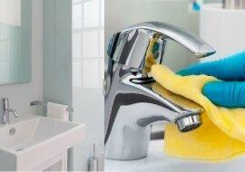 DieReinigung in Badezimmer. Quelle:dailymail.co.uk