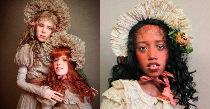 Der Bildhauer schafft Puppen, die so realistisch sind, dass sie leicht mit echten Menschen verwechselt werden können