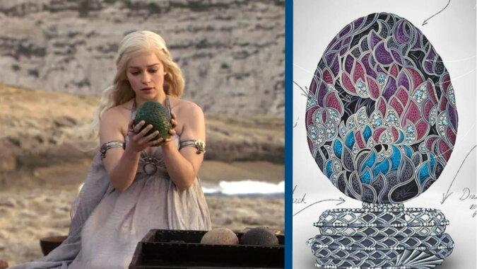Das Ei und Daenerys. Quelle: travelask