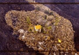 Das gebliebene Haus. Quelle: focus.com