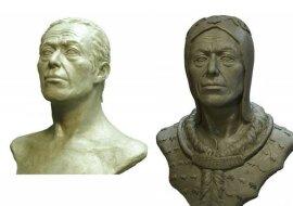 """""""Sibirischer Tutanchamun"""": Den Wissenschaftlern gelang es, das Aussehen eines alten Herrschers wiederherzustellen, der vor 2600 Jahren lebte"""