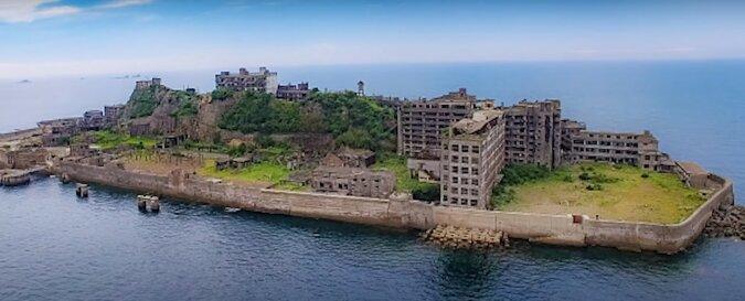 Hasima Insel. Quelle: Screenshot YouTube