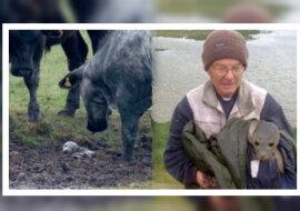 Der Mann mit dem Tier. Quelle: ntdtv.com