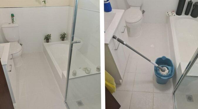 Ein sauberes Badezimmer. Quelle: dailymail.co.uk