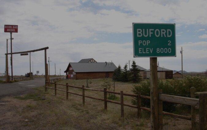 Geschichte von Buford, der Stadt, in der nur eine Person lebte