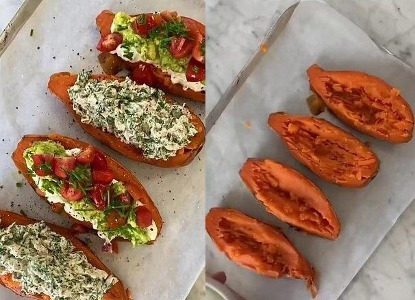 Faules Abendessen. Quelle:dailymail.co.uk