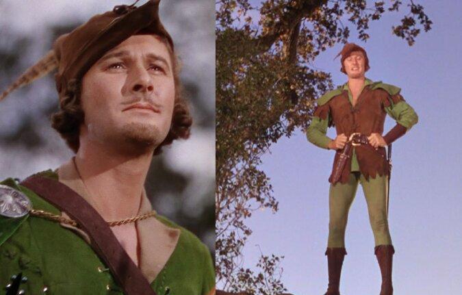Errol Flynn als Robin Hood. Quelle:dailymail.co.uk