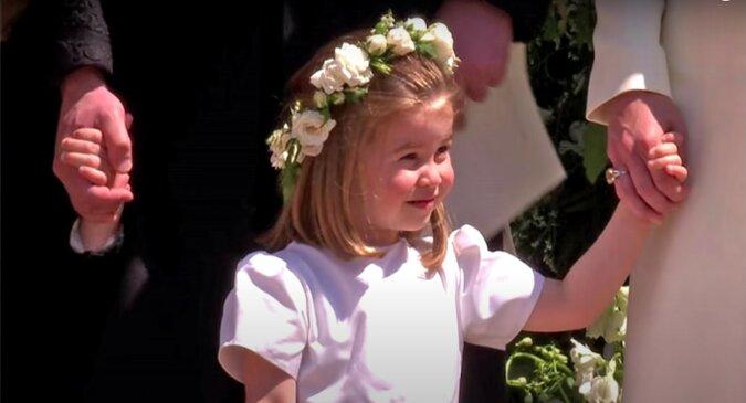Prinzessin Charlotte. Quelle: Screenshot YouTube