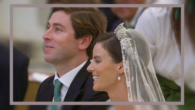 Prinzessin Marie-Astrid von Liechtenstein mit ihrem Verlobten Ralph Worthington. Quelle: showbiz.com