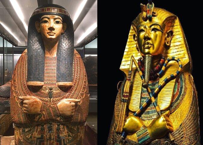 Goldene Parade der Pharaonen. Quelle:dailymail.co.uk