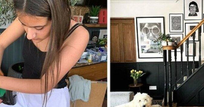 """""""Mit eigenen Händen"""": Ein  zwölfjähriges Mädchen hat selbst Reparaturen in seinem Haus durchgeführt"""