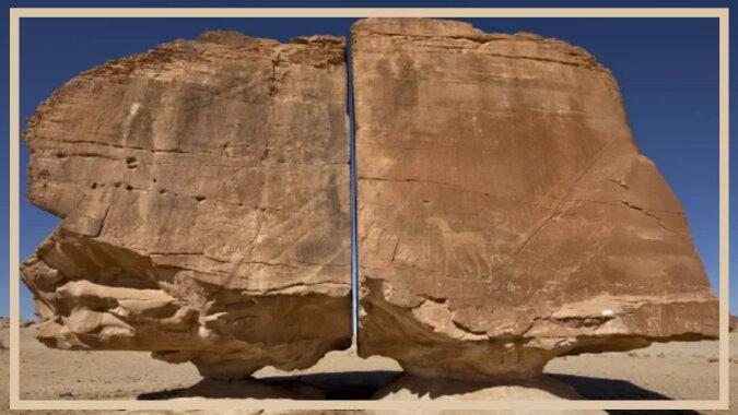 Die Al-Naslaa-Felsformation. Quelle: vinegred
