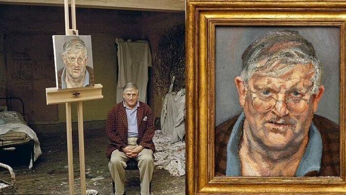 Ein Porträt des Malers David Hockney. Quelle:dailymail.co.uk