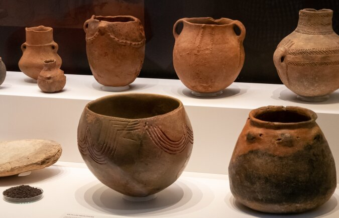 Neolithische Keramik. Quelle:dailymail.co.uk