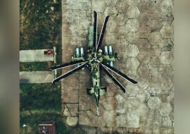 Hubschrauber. Quelle: Screenshot YouTube