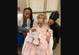 Familiengeschichte: 105-jährige Ur-Ur-Großmutter trifft Urenkelin der fünften Generation