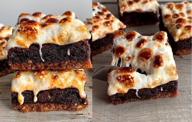 Marshmallow Brownie. Quelle:dailymail.co.uk