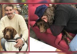 Der Mann mit seinem Hund. Quelle: instagram