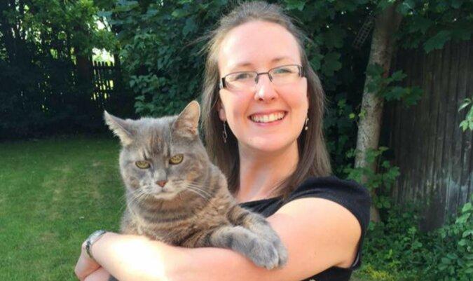Die Katzenpsychologin. Foto: facebook