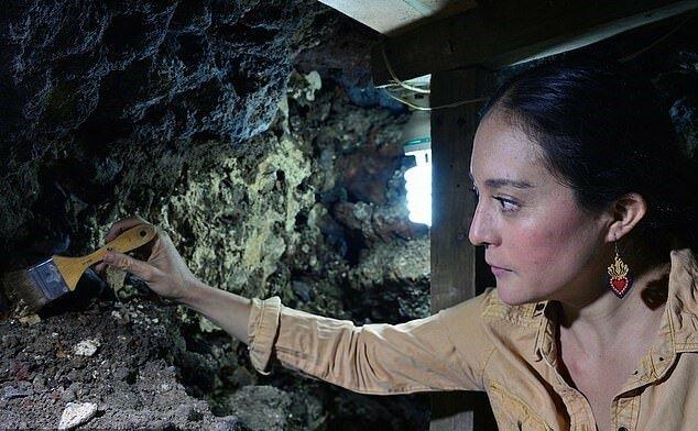 """""""Riten der alten Stämme"""": Archäologen haben die Kultstätte der berühmten Azteken entdeckt und die Geheimnisse ihres Glaubens enthüllt"""