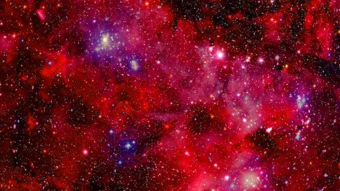Kosmischer Staub. Quelle: pinterest