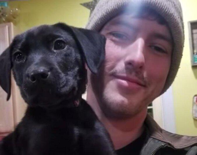 Ein Tierheimwelpe mit Hörproblemen wurde nicht adoptiert