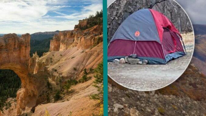 Das Zelt der Frau in den Bergen. Quelle: travelask