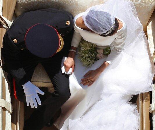 Wie das berühmteste Hochzeitsfoto von Prinz Harry und Meghan Markle aufgenommen wurde