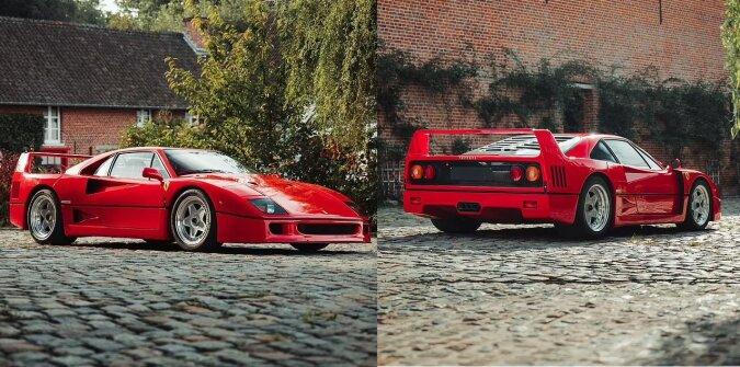 Ferrari F40. Quelle:dailymail.co.uk