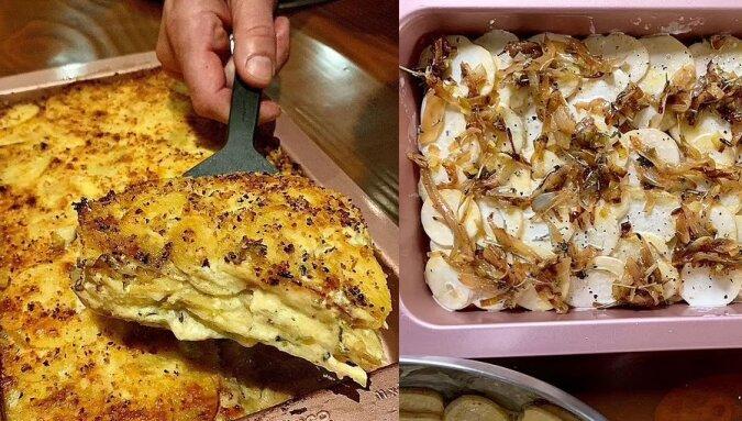 Der perfekte Kartoffelgratin. Quelle:dailymail.co.uk