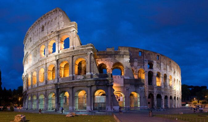 """""""Wie in der Zeit der Kaiser"""": Im römischen Kolosseum wird eine spezielle Beschichtung benutzt, damit sich Touristen wie Gladiatoren fühlen können"""