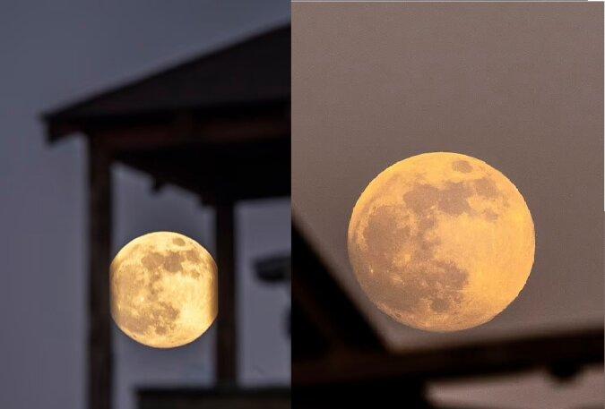 Super Mond. Quelle:dailymail.co.uk