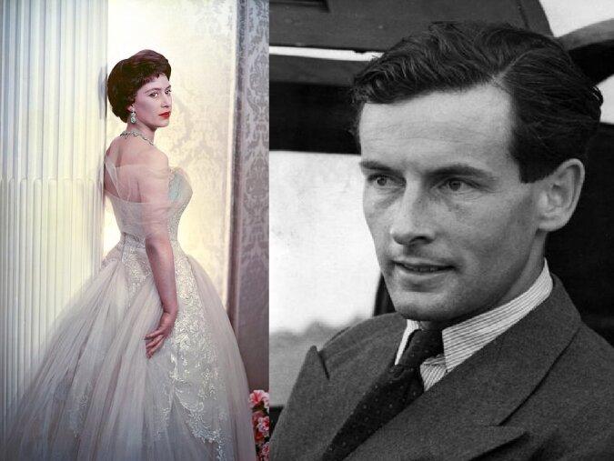 Prinzessin Margaret und Peter Townsend. Quelle:dailymail.co.uk