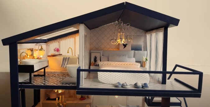 Mini-Haus. Quelle: Screenshot YouTube