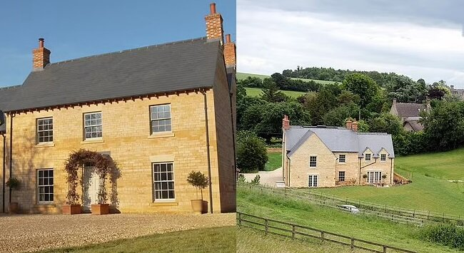 Das Haus in den Cotswolds. Quelle:dailymail.co.uk