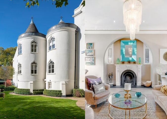 Das georgianische Herrenhaus. Quelle:dailymail.co.uk